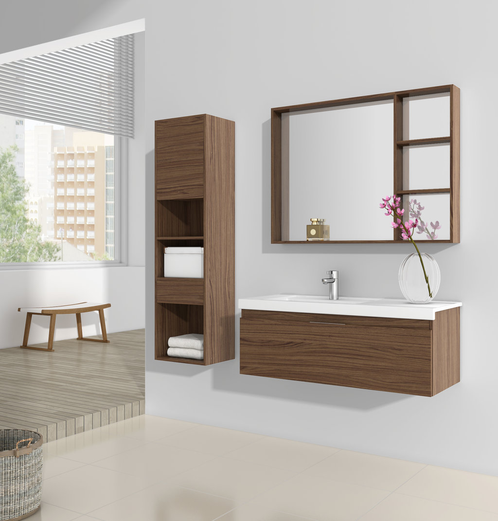 Comp. DS-1.- Mueble DS A. 1100 Izqdo. . Uñero cromo brillo