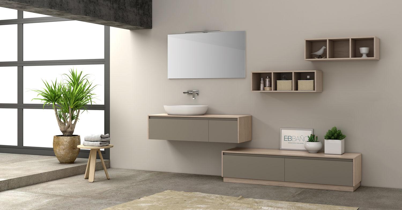 diseño muebles baño colgantes